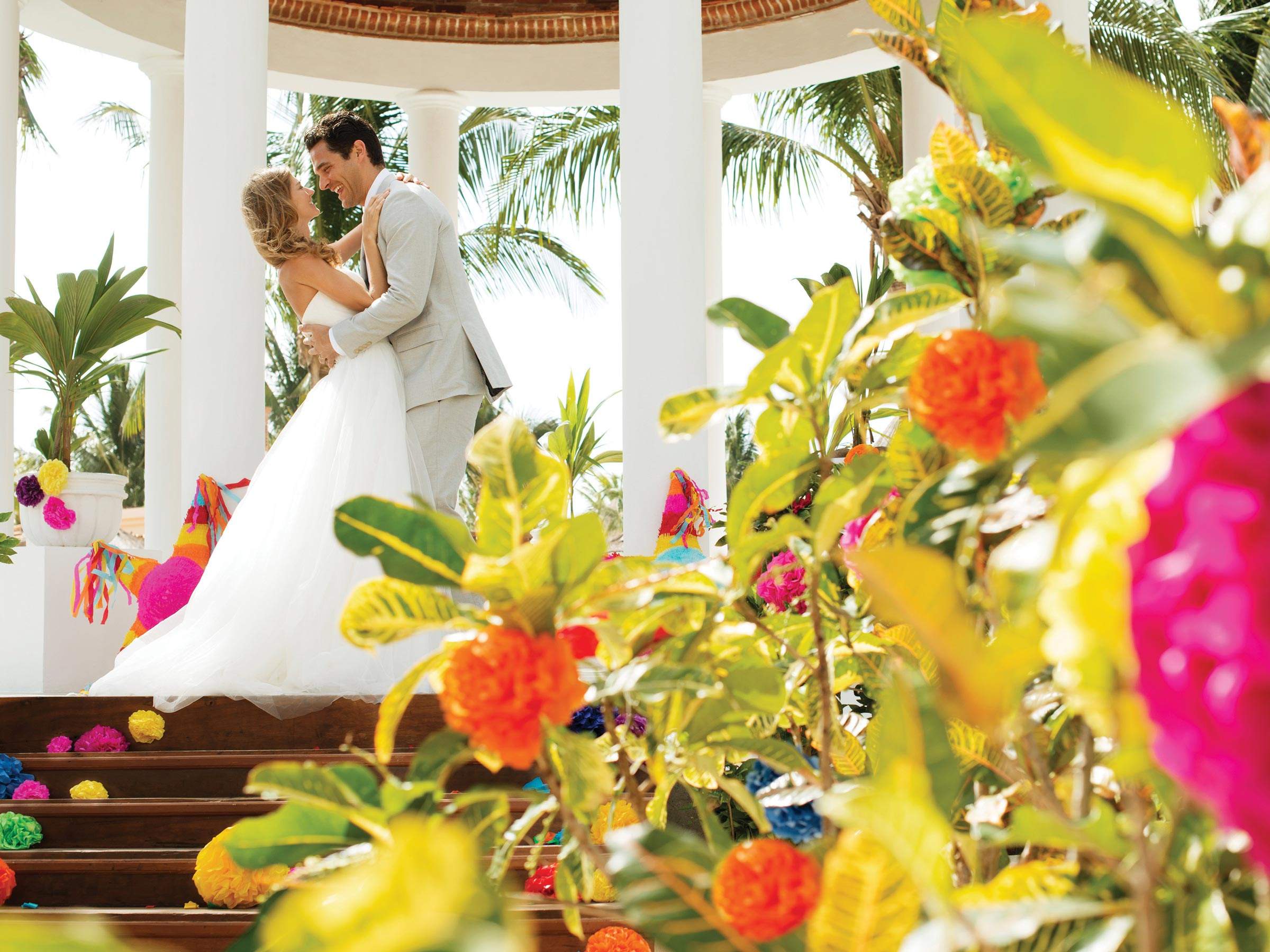 Riviera Maya Resort Caribbean Wedding Package
